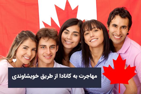 مهاجرت به کانادا از طریق خویشاوندی و خانواده (فامیلی)